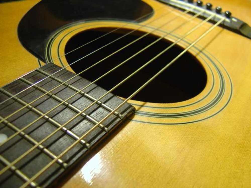 Click to get the codes for this image. Acoustic Guitar Soundhole, Music and Musical Instruments Background, wallpaper or texture for any blog, web page, phone or desktop