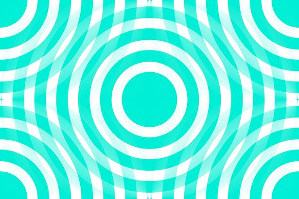 Click to get the codes for this image. Aqua And White Interlocking Concentric Circles, Patterns  Circles and Polkadots, Colors  Aqua Background, wallpaper or texture for Blogger, Wordpress, or any phone, desktop or blog.