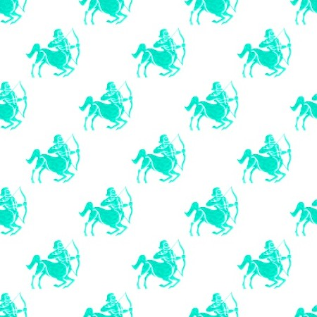 Click to get the codes for this image. Aqua Sagittarius Astrology On White, Astrology  Zodiac Symbols Background, wallpaper or texture for, Blogger, Wordpress, or any web page, blog, desktop or phone.