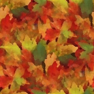 Click to get the codes for this image. Autumn Leaves Seamless Painting, Plants and Leaves, Seasons  Fall Background, wallpaper or texture for Blogger, Wordpress, or any phone, desktop or blog.