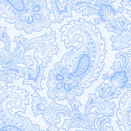 Click to get the codes for this image. Baby Blue Paisley Background Seamless Pattern, Colors  Blue, Paisleys, Cloth Patterns Background, wallpaper or texture for Blogger, Wordpress, or any phone, desktop or blog.