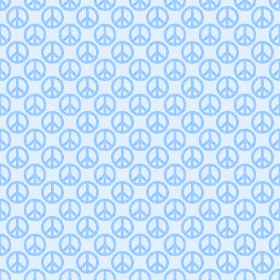 Click to get the codes for this image. Baby Blue Peace Signs Background Seamless, Peace Signs, Colors  Blue Background, wallpaper or texture for Blogger, Wordpress, or any phone, desktop or blog.