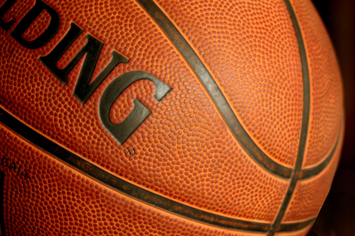 Click to get the codes for this image. Basketball Closeup, Sports and Athletics Background, wallpaper or texture for any blog, web page, phone or desktop