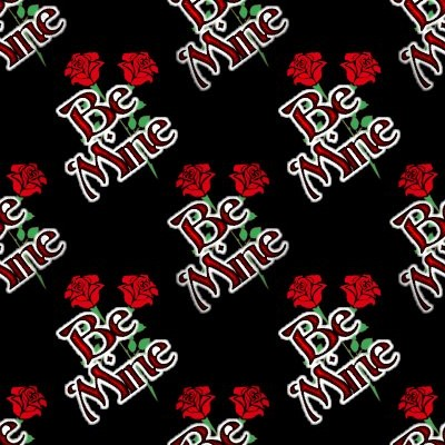Click to get the codes for this image. Be Mine Crossed Roses, Holidays  Valentines Day Background, wallpaper or texture for Blogger, Wordpress, or any phone, desktop or blog.