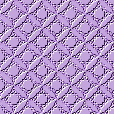 Click to get the codes for this image. Beveled Ornate Diamond Pattern Seamless Wallpaper Background Lavender, Patterns  Diamonds and Squares, Ornate, Beveled  Indented, Colors  Purple Background, wallpaper or texture for, Blogger, Wordpress, or any web page, blog, desktop or phone.
