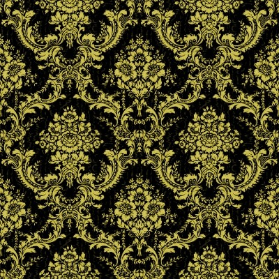 Click to get the codes for this image. Black And Gold Ornate Floral Wallpaper Tileable, Ornate, Flowers  Floral Designs, Colors  Yellow and Gold Background, wallpaper or texture for, Blogger, Wordpress, or any web page, blog, desktop or phone.