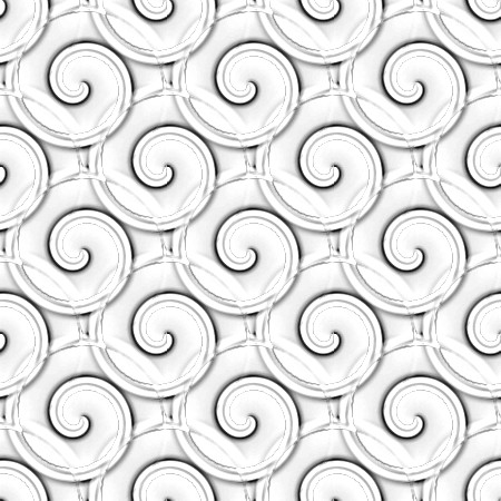 Click to get the codes for this image. Black And White Spirals, Patterns  Spirals and Swirls, Colors  Grey and Monochrome, Colors  Black and White Background, wallpaper or texture for Blogger, Wordpress, or any phone, desktop or blog.