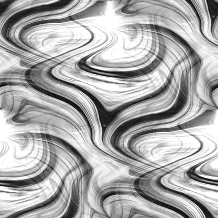 Black And White Swirl
