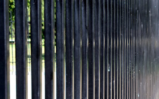 Click to get the codes for this image. Black Metal Fence Texture, Patterns  Vertical Stripes and Bars, Colors  Dark and Black Background, wallpaper or texture for Blogger, Wordpress, or any phone, desktop or blog.