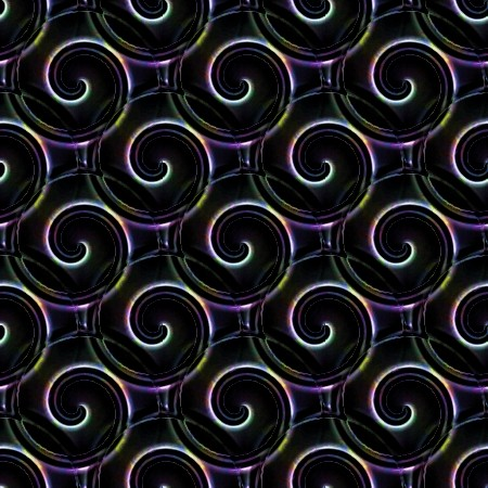 Click to get the codes for this image. Black Multi Colored Spirals Background, Patterns  Spirals and Swirls Background, wallpaper or texture for Blogger, Wordpress, or any phone, desktop or blog.