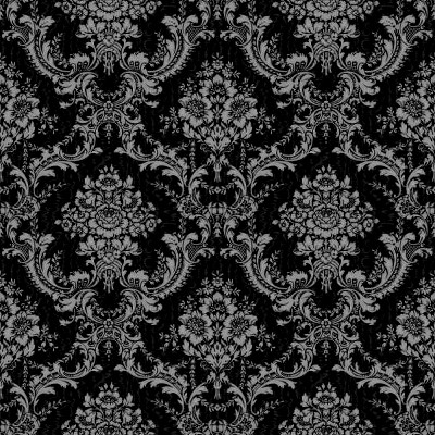 Click to get the codes for this image. Black Ornate Floral Wallpaper Tileable, Ornate, Flowers  Floral Designs, Colors  Dark and Black Background, wallpaper or texture for, Blogger, Wordpress, or any web page, blog, desktop or phone.