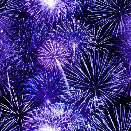 Click to get the codes for this image. Blue Fireworks Tiled Background Wallpaper, Fourth of July,  New Backgrounds, Fireworks, Colors  Blue Background, wallpaper or texture for, Blogger, Wordpress, or any web page, blog, desktop or phone.