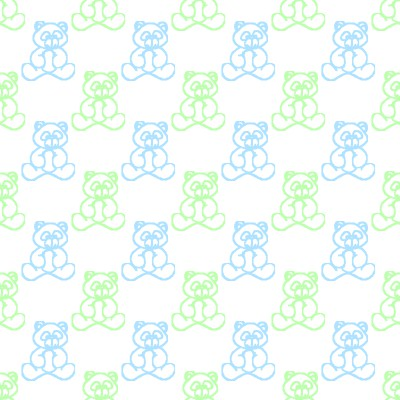 Click to get the codes for this image. Blue And Green Baby Teddy Bears Background Seamless, Babies  Maternity, Teddy Bears Background, wallpaper or texture for any blog, web page, phone or desktop