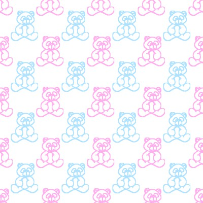 Click to get the codes for this image. Blue And Pink Baby Teddy Bears Background Seamless, Babies  Maternity, Teddy Bears Background, wallpaper or texture for any blog, web page, phone or desktop