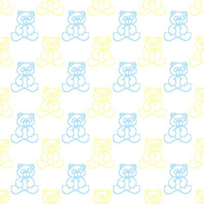 Click to get the codes for this image. Blue And Yellow Baby Teddy Bears Background Seamless, Babies  Maternity, Teddy Bears Background, wallpaper or texture for any blog, web page, phone or desktop