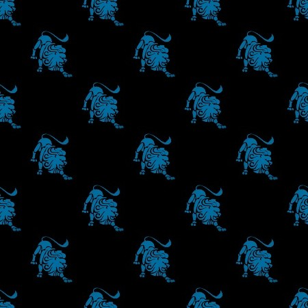 Click to get the codes for this image. Blue Leo Astrology On Black, Astrology  Zodiac Symbols Background, wallpaper or texture for, Blogger, Wordpress, or any web page, blog, desktop or phone.