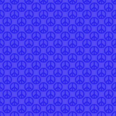 Click to get the codes for this image. Blue Peace Signs Background Seamless, Peace Signs, Colors  Blue Background, wallpaper or texture for Blogger, Wordpress, or any phone, desktop or blog.
