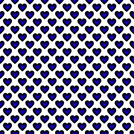 Click to get the codes for this image. Blue Satin Hearts On White Background Seamless, Hearts, Colors  Blue Background, wallpaper or texture for, Blogger, Wordpress, or any web page, blog, desktop or phone.