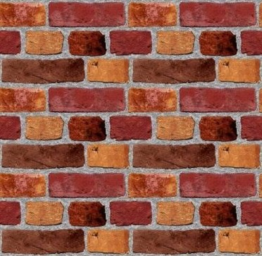 Click to get the codes for this image. Brick Wall Tileable Wallpaper, Bricks, Colors  Brown, Walls Background, wallpaper or texture for, Blogger, Wordpress, or any web page, blog, desktop or phone.