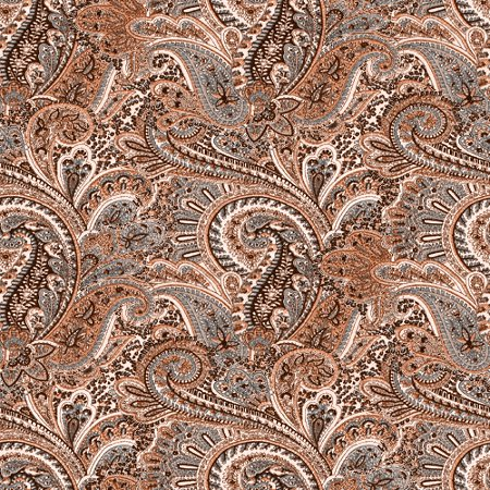 Click to get the codes for this image. Brown Paisley Pattern Background Seamless, Cloth Patterns, Paisleys, Colors  Brown Background, wallpaper or texture for Blogger, Wordpress, or any phone, desktop or blog.