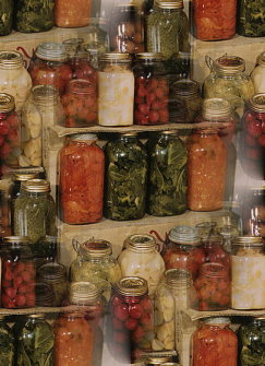 Click to get the codes for this image. Canned Veggies, Candy and Food, Seasons  Fall Background, wallpaper or texture for, Blogger, Wordpress, or any web page, blog, desktop or phone.