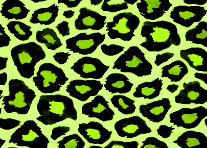 Click to get the codes for this image. Chartreuse Leopard Print, Animal Print, Colors  Green Background, wallpaper or texture for, Blogger, Wordpress, or any web page, blog, desktop or phone.