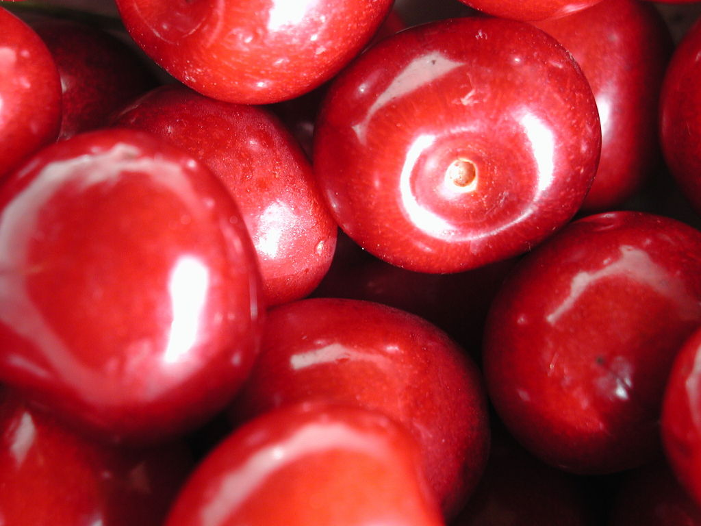 Click to get the codes for this image. Cherries, Candy and Food, Colors  Red Background, wallpaper or texture for, Blogger, Wordpress, or any web page, blog, desktop or phone.