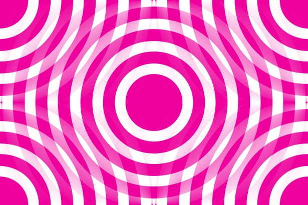 Click to get the codes for this image. Cherry Pink And White Interlocking Concentric Circles, Patterns  Circles and Polkadots, Colors  Pink Background, wallpaper or texture for Blogger, Wordpress, or any phone, desktop or blog.