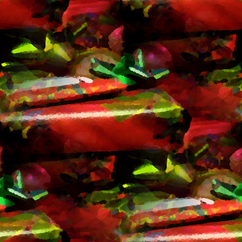 Click to get the codes for this image. Christmas Packages Seamless Painting, Ribbons and Bows, Holidays  Christmas Background, wallpaper or texture for, Blogger, Wordpress, or any web page, blog, desktop or phone.