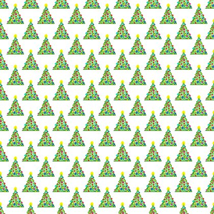 Click to get the codes for this image. Christmas Trees On White Background Seamless, Holidays  Christmas Background, wallpaper or texture for Blogger, Wordpress, or any phone, desktop or blog.