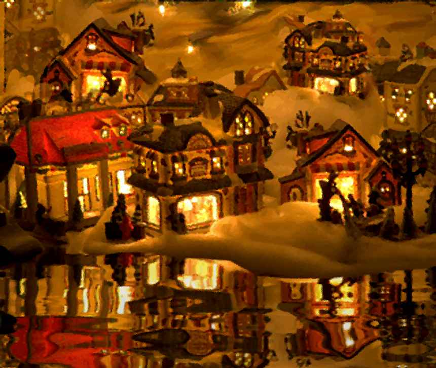 Click to get the codes for this image. Christmas Village, Holidays  Christmas, Seasons  Winter Background, wallpaper or texture for Blogger, Wordpress, or any phone, desktop or blog.