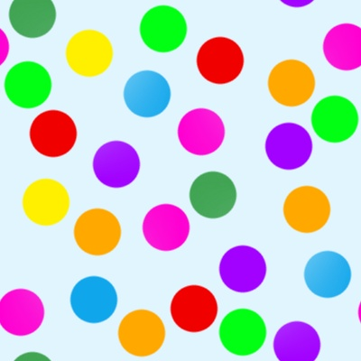 Click to get the codes for this image. Colorful Dots On Blue, Patterns  Circles and Polkadots Background, wallpaper or texture for Blogger, Wordpress, or any phone, desktop or blog.