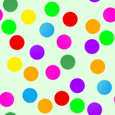 Click to get the codes for this image. Colorful Dots On Green, Patterns  Circles and Polkadots Background, wallpaper or texture for Blogger, Wordpress, or any phone, desktop or blog.
