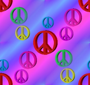 Click to get the codes for this image. Colorful Peace Signs On Pink And Blue Background, Peace Signs, Signs  Symbols Background, wallpaper or texture for, Blogger, Wordpress, or any web page, blog, desktop or phone.