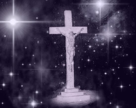Click to get the codes for this image. Crucifix With Starry Background, Christian Background, wallpaper or texture for, Blogger, Wordpress, or any web page, blog, desktop or phone.