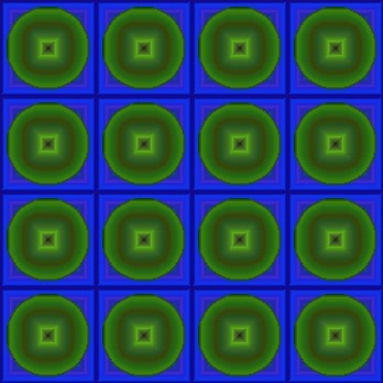 Click to get the codes for this image. Dark Blue And Green Circle Squares, Patterns  Diamonds and Squares, Patterns  Circles and Polkadots Background, wallpaper or texture for Blogger, Wordpress, or any phone, desktop or blog.