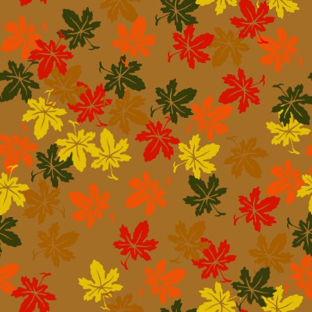 Click to get the codes for this image. Fall Leaves Background Seamless, Seasons  Fall, Plants and Leaves,  New Backgrounds Background, wallpaper or texture for, Blogger, Wordpress, or any web page, blog, desktop or phone.