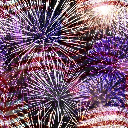 Click to get the codes for this image. Fireworks And Flag Tiled Background Wallpaper, Fourth of July, Patriotic,  New Backgrounds, Fireworks Background, wallpaper or texture for, Blogger, Wordpress, or any web page, blog, desktop or phone.