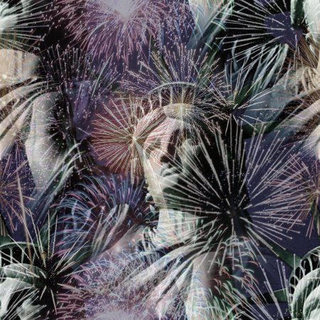 Click to get the codes for this image. Fireworks And Statue Of Liberty July 4 Tiled Background Wallpaper, Fourth of July, Patriotic,  New Backgrounds, Fireworks Background, wallpaper or texture for, Blogger, Wordpress, or any web page, blog, desktop or phone.
