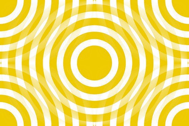 Click to get the codes for this image. Gold And White Interlocking Concentric Circles, Patterns  Circles and Polkadots, Colors  Yellow and Gold Background, wallpaper or texture for Blogger, Wordpress, or any phone, desktop or blog.