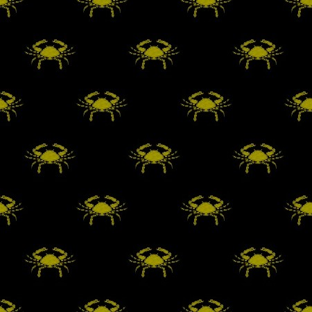 Click to get the codes for this image. Gold Cancer Astrology On Black, Astrology  Zodiac Symbols Background, wallpaper or texture for, Blogger, Wordpress, or any web page, blog, desktop or phone.