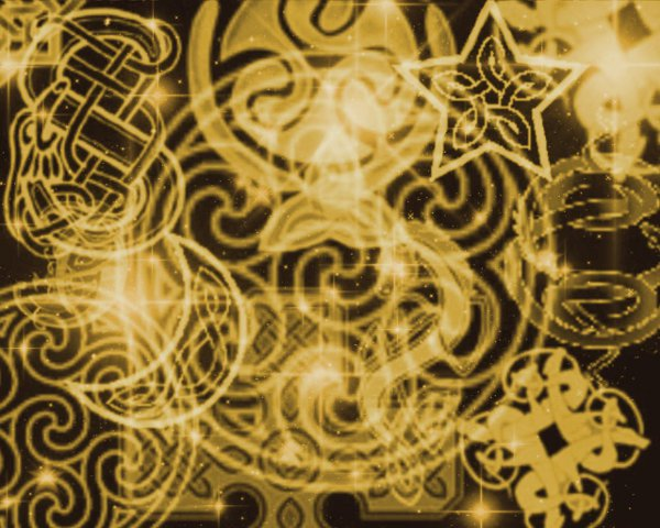 Click to get the codes for this image. Gold Celtic Patterns With Stars Background 1280x1024, Patterns  Celtic, Colors  Yellow and Gold Background, wallpaper or texture for Blogger, Wordpress, or any phone, desktop or blog.
