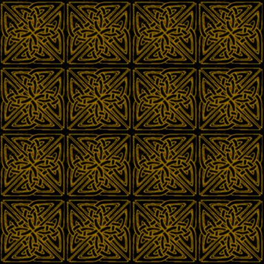 Click to get the codes for this image. Gold On Black Celtic Squares Seamless Background Pattern, Patterns  Celtic, Colors  Yellow and Gold, Ornate Background, wallpaper or texture for, Blogger, Wordpress, or any web page, blog, desktop or phone.