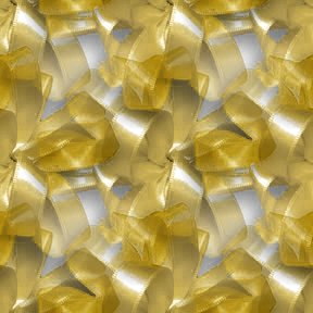 Click to get the codes for this image. Gold Ribbons And Bows, Colors  Yellow and Gold, Ribbons and Bows Background, wallpaper or texture for, Blogger, Wordpress, or any web page, blog, desktop or phone.