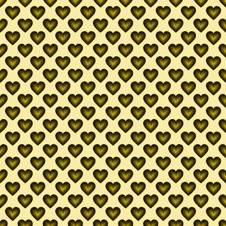 Click to get the codes for this image. Gold Satin Hearts Background Seamless, Hearts, Colors  Yellow and Gold Background, wallpaper or texture for, Blogger, Wordpress, or any web page, blog, desktop or phone.