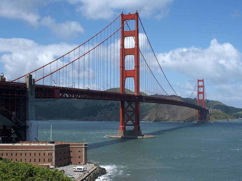 Click to get the codes for this image. Golden Gate Bridge, Nature Landscapes  Scenery, Cities  Buildings Background, wallpaper or texture for, Blogger, Wordpress, or any web page, blog, desktop or phone.