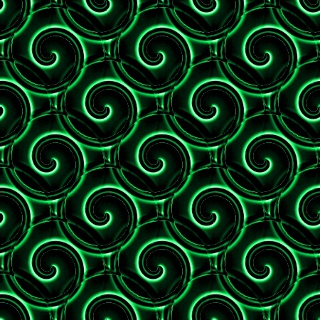 Click to get the codes for this image. Green And Black Spirals, Patterns  Spirals and Swirls, Colors  Green Background, wallpaper or texture for Blogger, Wordpress, or any phone, desktop or blog.