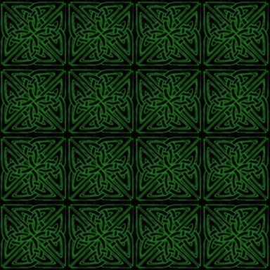 Click to get the codes for this image. Green On Black Celtic Squares Seamless Background Pattern, Patterns  Celtic, Colors  Green, Ornate Background, wallpaper or texture for, Blogger, Wordpress, or any web page, blog, desktop or phone.
