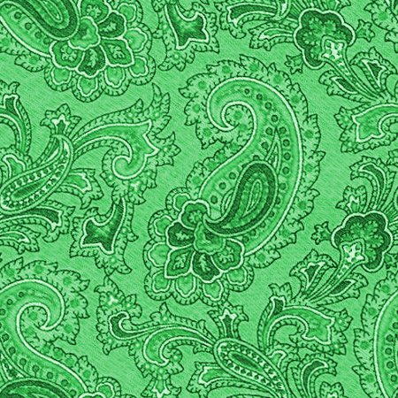 Click to get the codes for this image. Green Paisley Background Seamless Pattern, Colors  Green, Paisleys, Cloth Patterns Background, wallpaper or texture for Blogger, Wordpress, or any phone, desktop or blog.