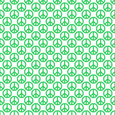 Click to get the codes for this image. Green Peace Signs On White Background Seamless, Peace Signs, Colors  Green Background, wallpaper or texture for Blogger, Wordpress, or any phone, desktop or blog.